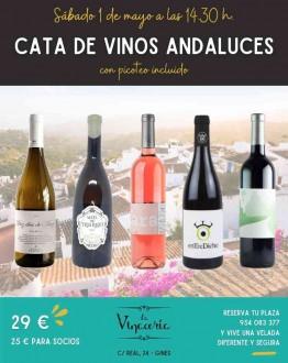 CATA DE VINOS ANDALUCES